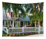 Christmas Cottage - Naples Tapestry