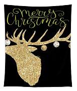 Christmas Deer Tapestry