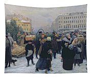 Christmas Fair  Tapestry
