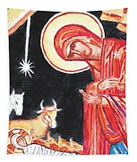 Christmas Icon 2 Tapestry