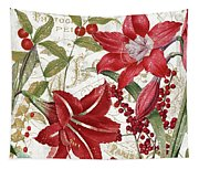 Christmas In Paris I Tapestry