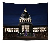 Christmas Night In Sf Tapestry