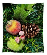 Christmas Ornaments II Tapestry