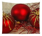 Christmas Ornaments Tapestry