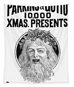 Christmas Present Ad, 1890 Tapestry