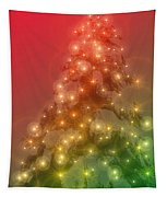 Christmas Radiance Tapestry