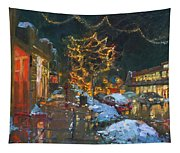 Christmas Reflections Tapestry