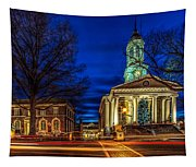 Christmas Small Town Tapestry