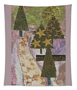 Christmas Stroll Card Tapestry