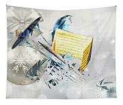 Christmas Time Music Tapestry