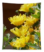 Chrysanthemums Tapestry