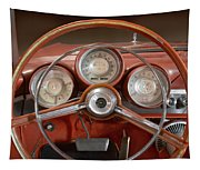 Chrysler Turbine Cockpit View Tapestry