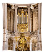 Church Altar Inside Palace Of Versailles Tapestry