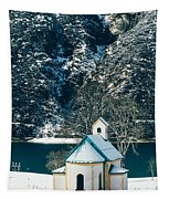 Church By The Achensee Tapestry