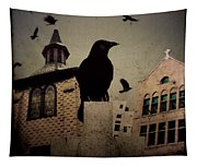 City Church Crows Tapestry