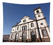 Church In Azores Islands Tapestry
