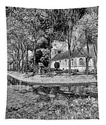 Church In Holland Tapestry