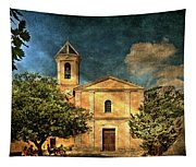 Church In Peillon Tapestry