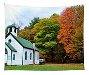 Church In The Wildwood Tapestry