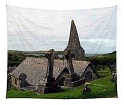 Church Of St. Enodoc Tapestry