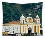 Church Of The Transfiguration Quetzaltenango Guatemala 2 Tapestry