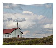Church On The Hill Tapestry