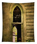 Church Window Church Bell Tapestry