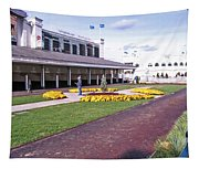 Churchill Downs Paddock Area Tapestry