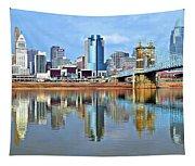 Cincinnati Ohio Times Two Tapestry