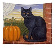 Cinder The Cat Tapestry