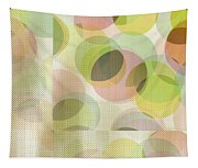 Circle Pattern Overlay Tapestry