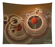 Circles And Rings Tapestry
