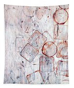 Circles And Squares Tapestry