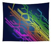Circuit Board Tapestry