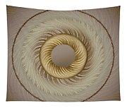 Circular Abastract Art 5 Tapestry
