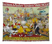 Circus Poster, 1903 Tapestry
