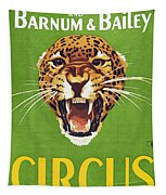 Circus Poster, 1940s Tapestry