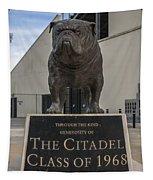 Citadel Bulldog Tapestry