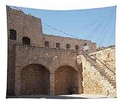 Citadel In Akko Tapestry