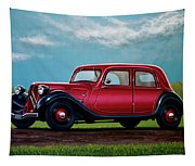 Citroen Traction Avant 1934 Painting Tapestry