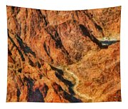 City - Arizona - Grand Canyon - A Look Into The Abyss Tapestry