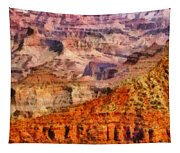 City - Arizona - Grand Canyon - Kabob Trail Tapestry