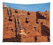 City - Arizona - Pueblo Tapestry