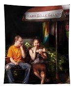 City - Ny - Mariebelle Gelato  Tapestry