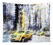 City-art Times Square Streetscene Tapestry
