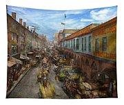 City - Baltimore Md - Traffic On Light Street - 1906 Tapestry