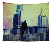 City Bird Tapestry