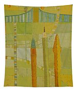 City Icons Tapestry