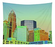 City Of Colors Tapestry