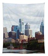 City Of Philadelphia Tapestry